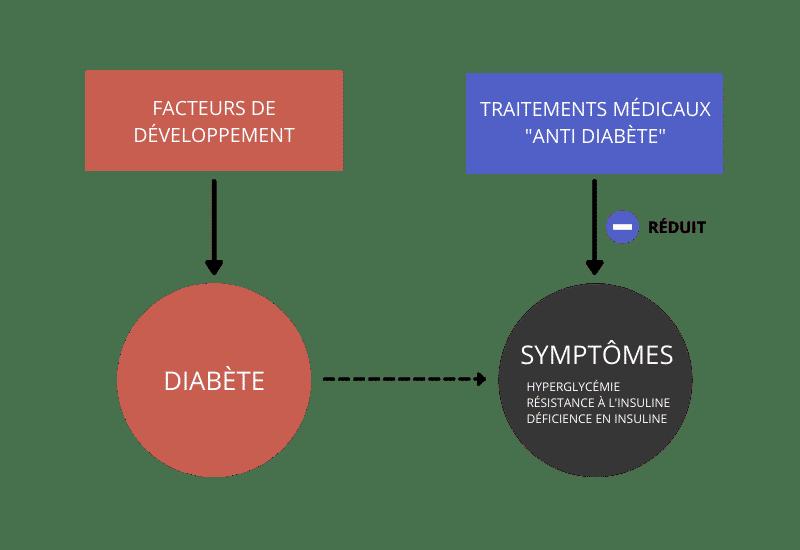 Traitement du diabète de type 2: effet des médicaments