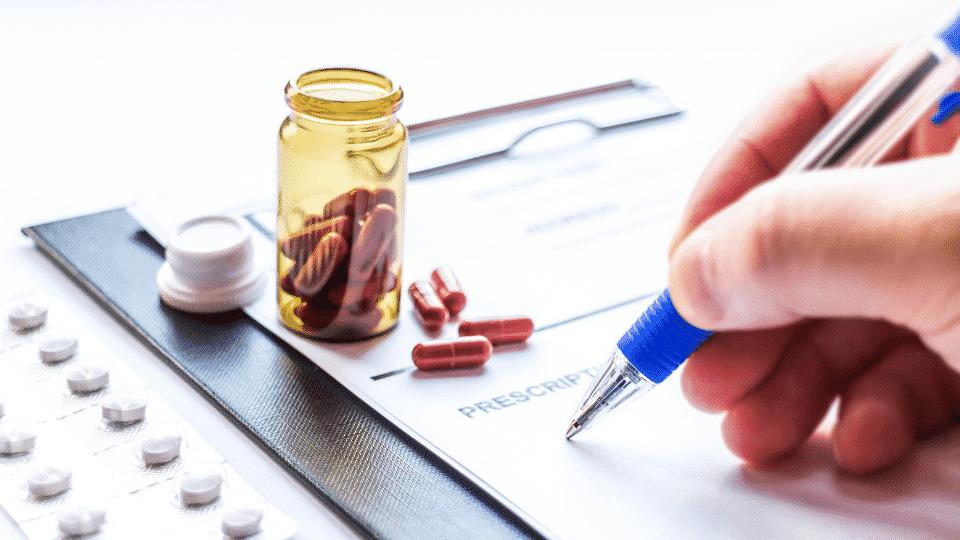 étape 3 prescription de médicaments