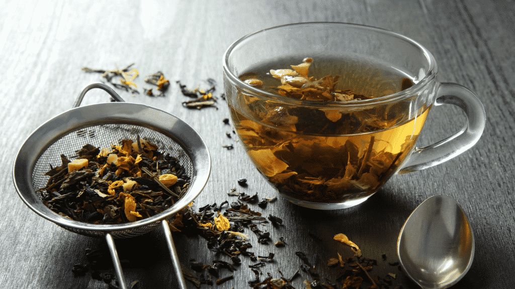 Dessert pour diabétique n°7: du thé